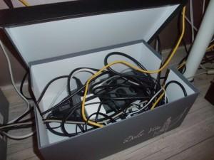 Rangez vos c bles - Boite cache fils electriques ...