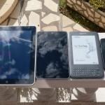 iPad, Nexus 7, Kindle et Galaxy Nexus