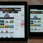 iPad, Nexus 7
